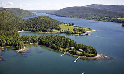 Somesville Photograph - Somesville, Mount Desert Island by Dave Cleaveland