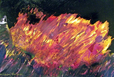 Painting - Something Burning by Richard Mordecki