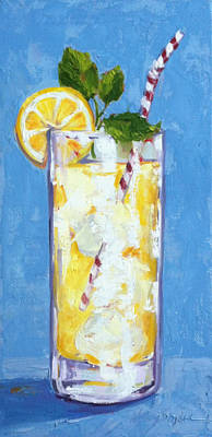 Painting - Something Cool To Drink by Kelley Smith