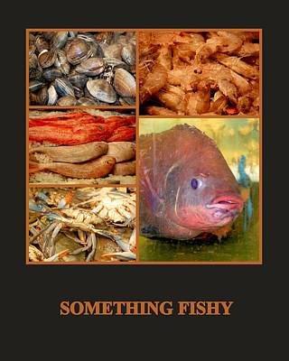Photograph - Something Fishy by AJ  Schibig