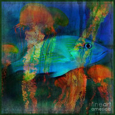 Something Fishy Art Print by Erika Weber