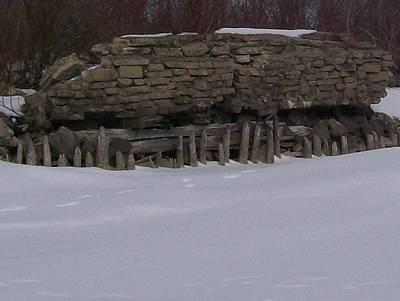 2013 Calendar Photograph - John Hinker's Coal Dock. by Jonathon Hansen