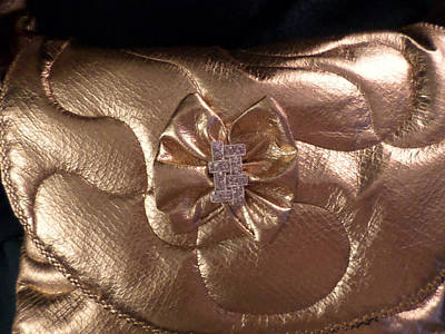 Photograph - Something To Do With Gold Pleather by Ginny Schmidt