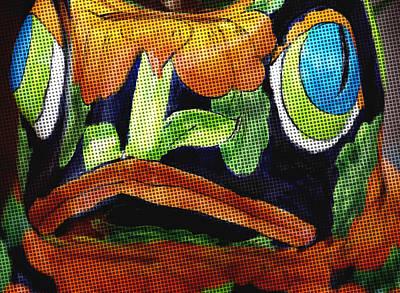 Ceramic Fish Mixed Media - Somethings Fishey by Rosalie Scanlon