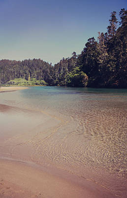 Mendocino Photograph - Sometimes It's So Clear by Laurie Search