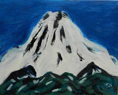 Painting - Somewhere Rainier by David Trotter