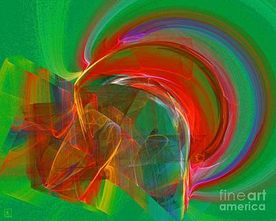Artport Digital Art - Somewhere 1 by Jeanne Liander