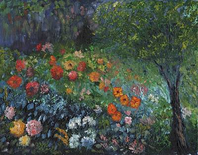 Painting - Somewhere A Garden by William Killen