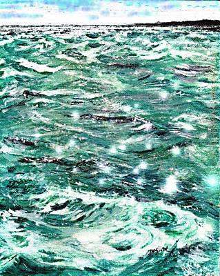 Somewhere Beyond The Sea Art Print