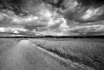Dirt Roads Photograph - Somewhere Down The Road by Peter Tellone