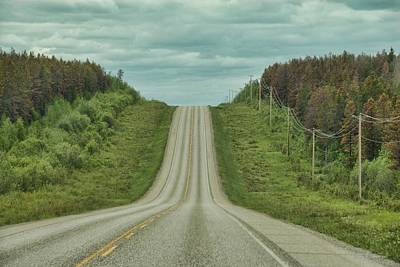 Photograph - Somewhere In Alberta by Dyle   Warren