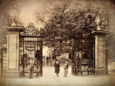 Gate Photograph - Somewhere In Time by Jessica Jenney