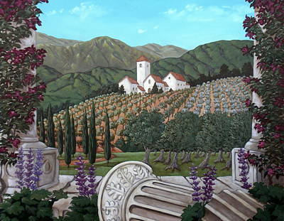 Somewhere In Tuscany Art Print by Gerry High