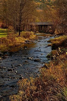 Somewhere In Vermont Art Print by Don Dennis