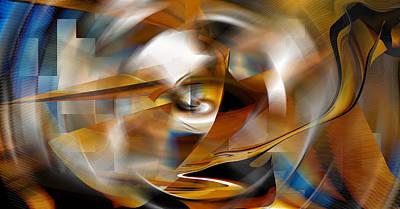 Digital Art - Somewhere Inside by rd Erickson