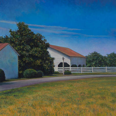 Painting - Somewhere Near Sperryville Va by David P Zippi