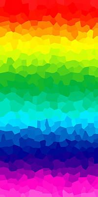 Mixed Media - Somewhere Over The Rainbow 1 by Angelina Tamez
