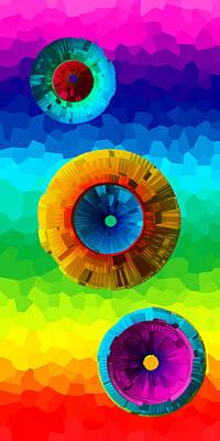 Mixed Media - Somewhere Over The Rainbow 2 by Angelina Tamez
