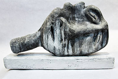 Abstract Expression Sculpture - Somnio No. 1  by Mark M  Mellon