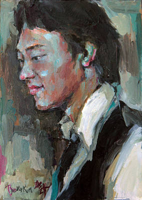 Painting - Son by Becky Kim