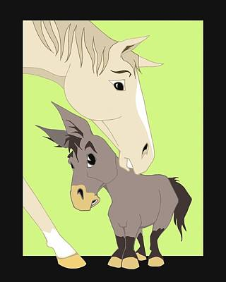 Son Of A Jackass Art Print by Tammy Long