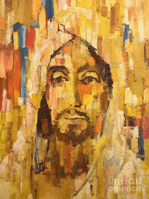 Ecce Homo Painting - Son Of Man by Lutz Baar