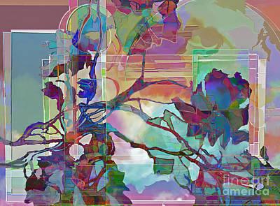 Art Print featuring the digital art Sonata by Ursula Freer