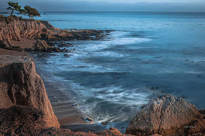 Photograph - Song At The End Of Day--- Shell Beach by Tim Bryan