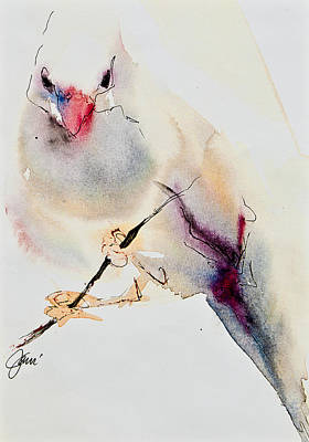 Painting - Song Bird by Jani Freimann