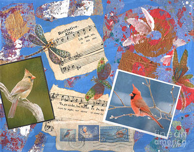 Painting - Song Birds by Audrey Peaty