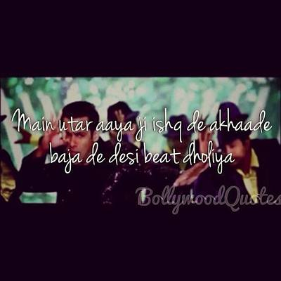 Song Desibeat Movie Bodyguard Photograph By Bollywood Quotes