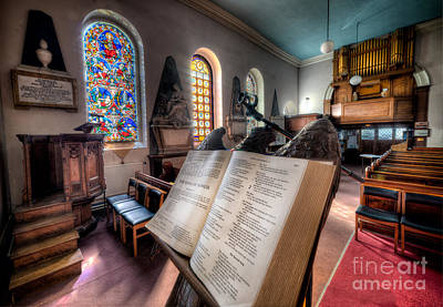 Aisle Photograph - Song Of Solomon by Adrian Evans