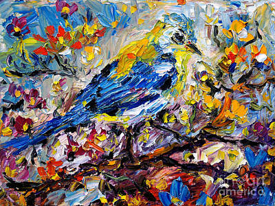 Painting - Songbird Symphony by Ginette Callaway