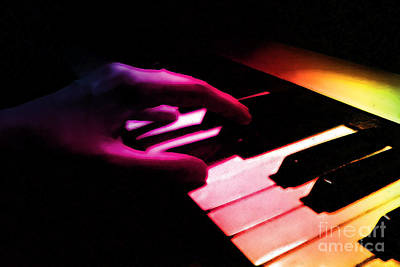 Digital Art - Songs In The Night by Margie Chapman