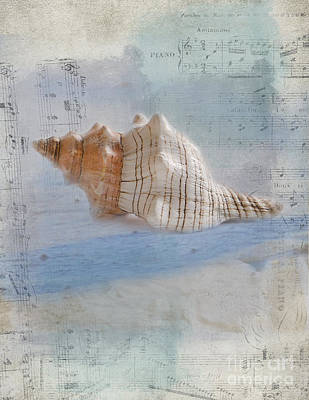 Songs Of The Sea Art Print by Betty LaRue