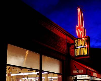 Photograph - Sonic Boom Records by Benjamin Yeager