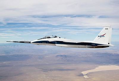 F15 Wall Art - Photograph - Sonic Boom Research by Nasa/dfrc/science Photo Library
