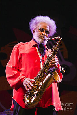 Sonny Rollins In Red Shirt Art Print