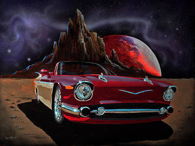 Painting - Sonny's Ride by Richard Mordecki