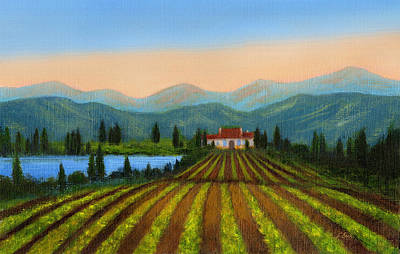 Painting - Sonoma by Gordon Beck