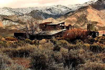 Photograph - Sonoma Range Shack by Benjamin Yeager