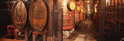 Cellar Photograph - Sonoma Wine Country Sebastinai Wine by Panoramic Images