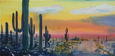 Sonora Painting - Sonora Alive by J FLoRian Dunn