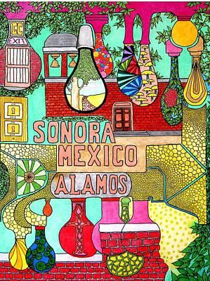 Sonora Lights 01 Art Print