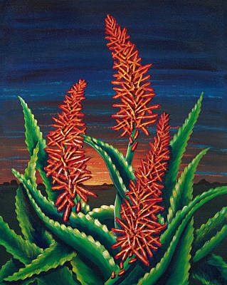 Painting - Sonora Sunrise by Lori Sutherland
