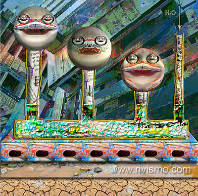 Painting - Sonrisa Comunicante by Ramon Rivas - Rivismo