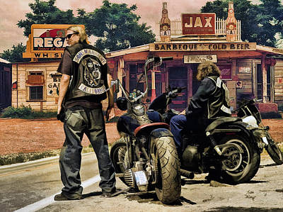 Sons Of Anarchy Photograph - Sons Of Anarchy .... by Rat Rod Studios