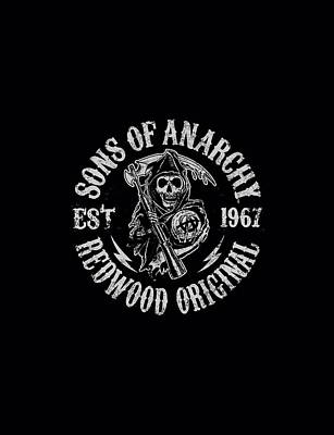 Sons Of Anarchy Digital Art - Sons Of Anarchy - Redwood Originals by Brand A