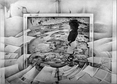 Mixed Media - Sonship 1980 by Glenn Bautista