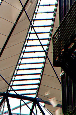 Sony Center Berlin Roof Detail Original by Li   van Saathoff